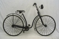 Early Bicycle with Bike Light