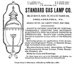 Standard Gas Lamp Company