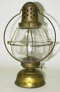 Manhattan Brass Lantern