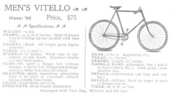 Upton's Vitello Bicycle