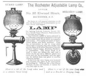 Adj. Lamp Company Advert.
