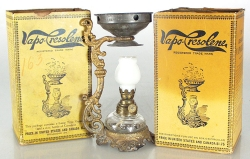 Vapo-cresolene Lamp and Packages