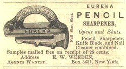 Weeden's EUREKA sharpener